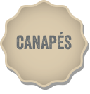Canapes menu button
